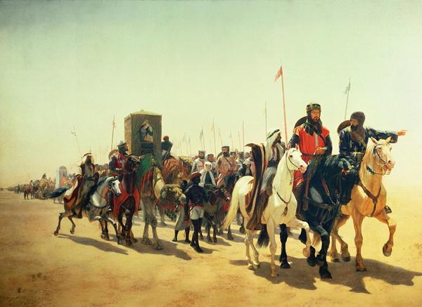 Richard Coeur de Lion sur le chemin de Jérusalem