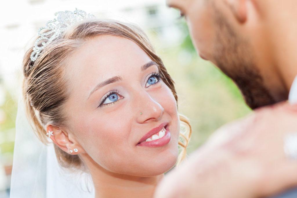 Séance Couple : portrait de la mariée