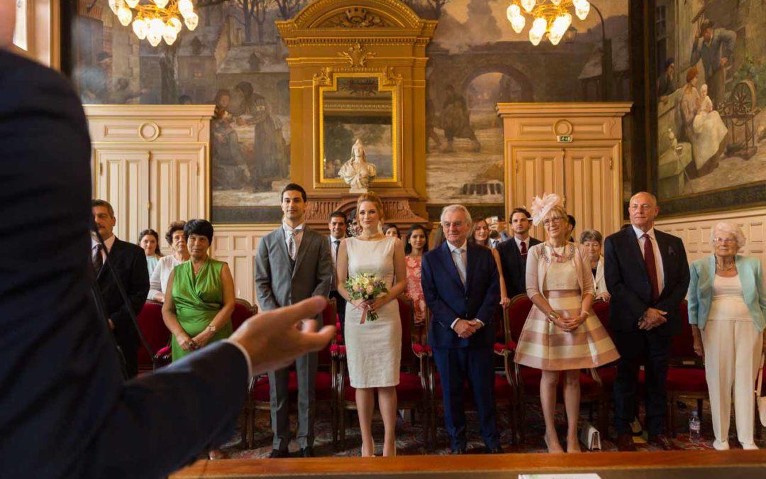 Le mariage à la mairie