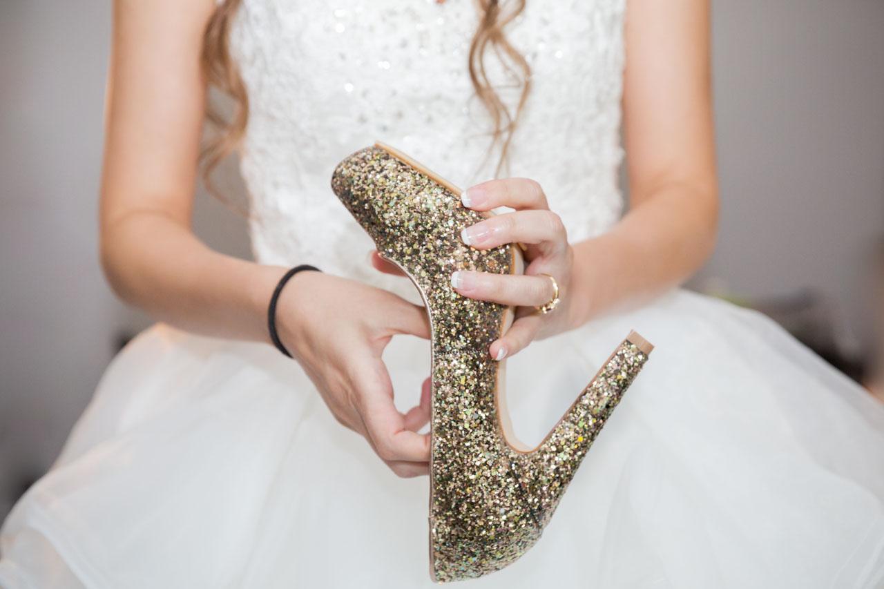Les préparatifs de la mariée : les chaussures - Crédits : Les Photos de Bela