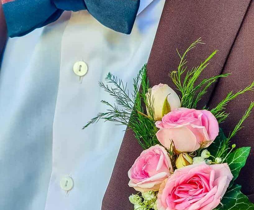 La boutonnière du marié