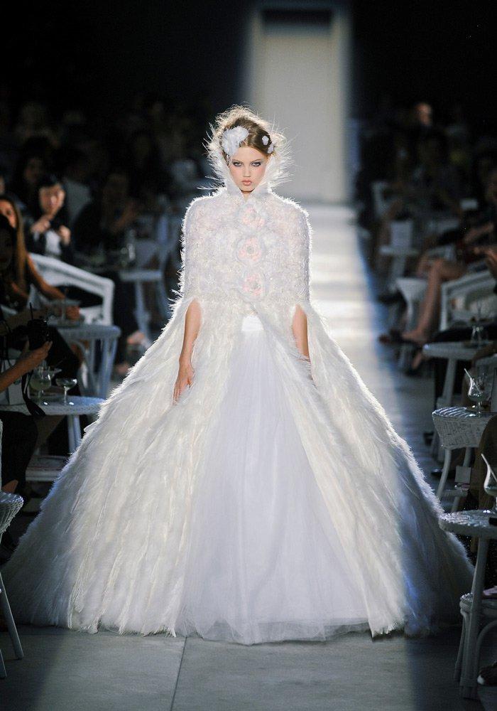 Robes de mariées Chanel par Karl Lagerfeld