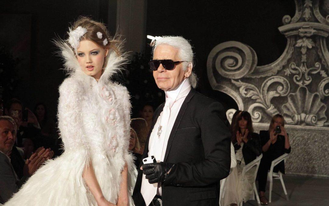 Les plus belles robes de mariée par Karl Lagerfeld pour Chanel