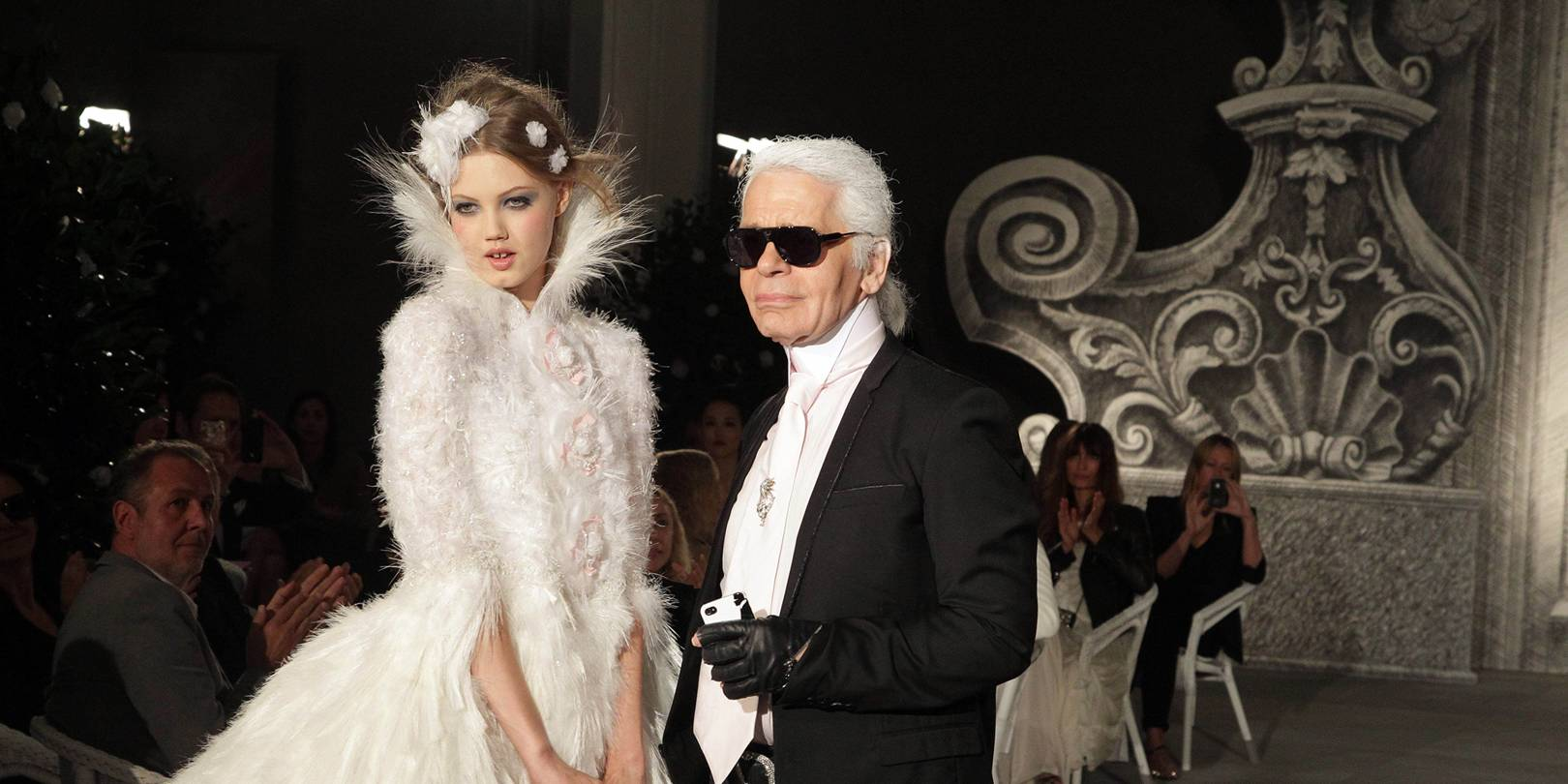 Les robes de mariée Chanel par Karl Lagerfeld