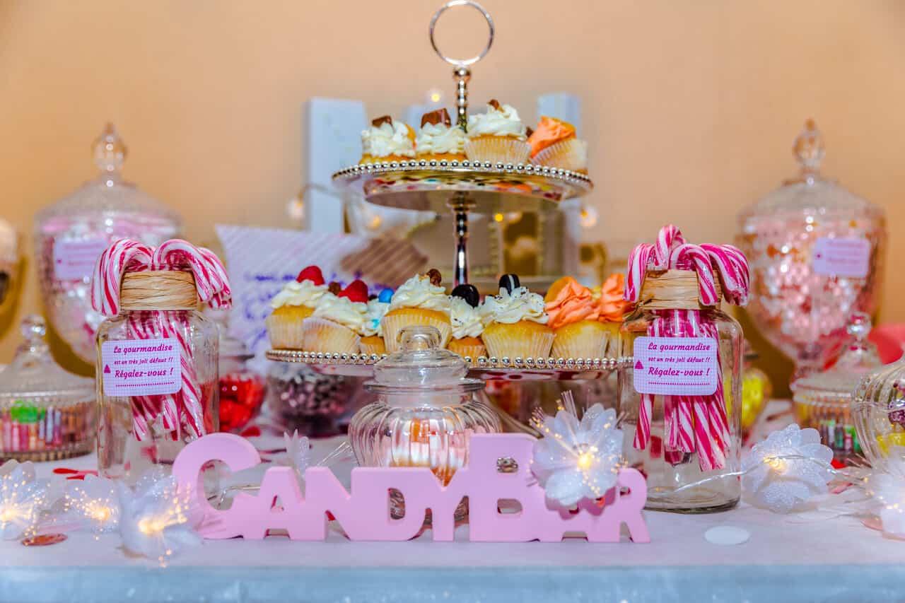 Candy Bar de Mariage - Crédits : Les Photos de Bela