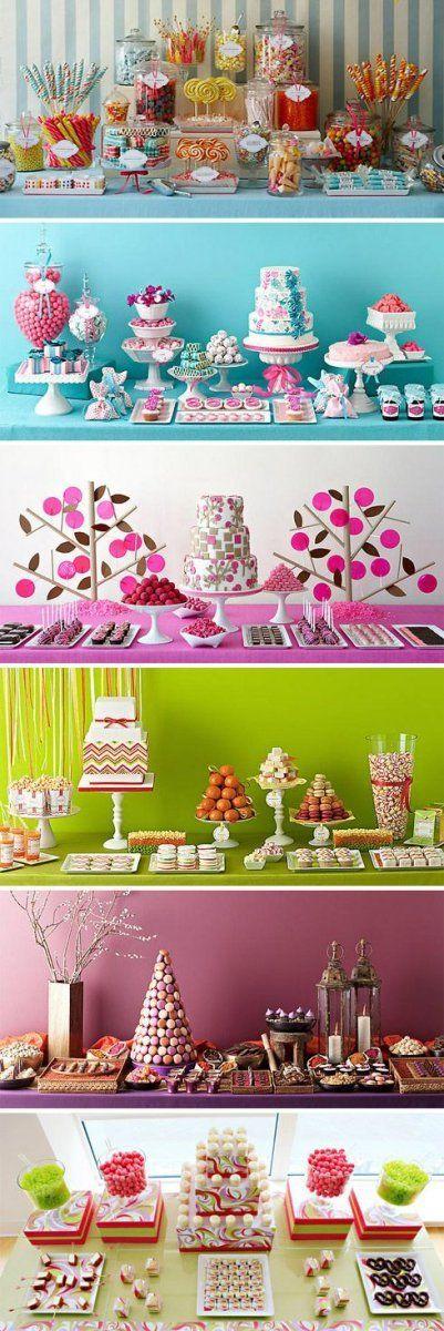 C'est quoi un Candy Bar ? Présentation de differentes réalisations en photo
