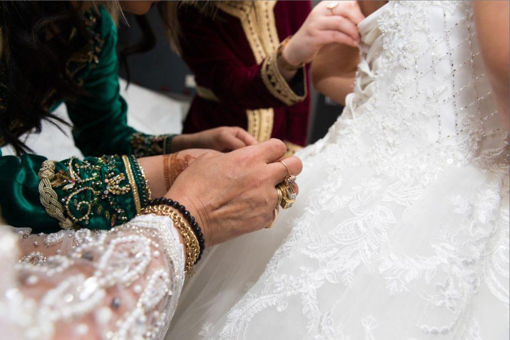 Mariage Oriental à Paris : les préparatifs de la mariée