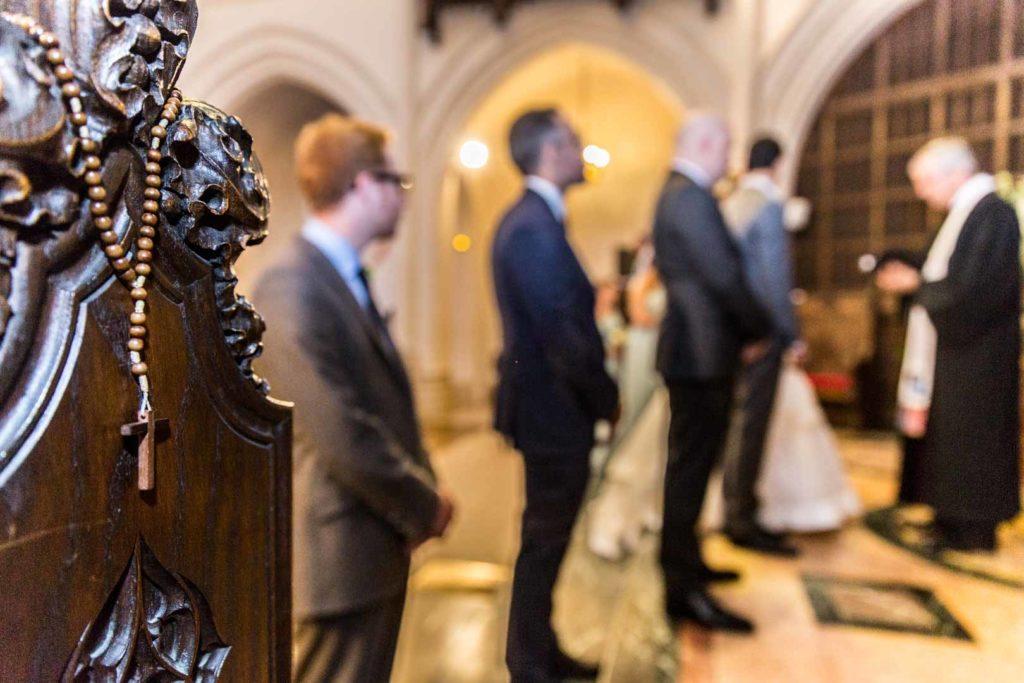 Mariage religieux à l'Eglise Américaine de Paris - Crédits : Les photos de Bela