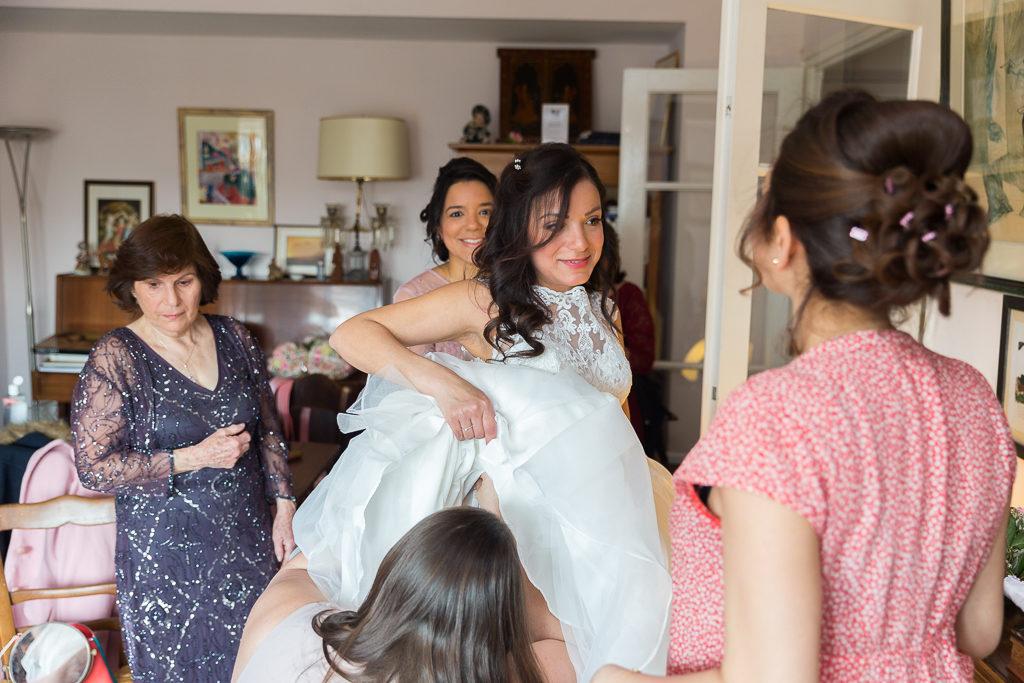 Les préparatifs de la mariée - Paris 14 - Photographe mariage Paris IDF