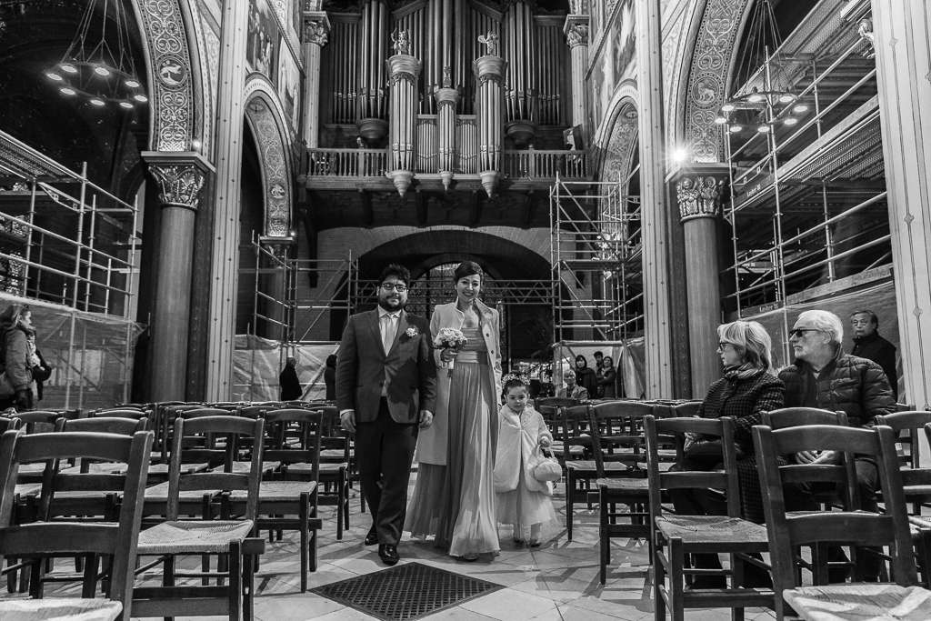 Mariage à l'Église Saint Germain des Près - Paris