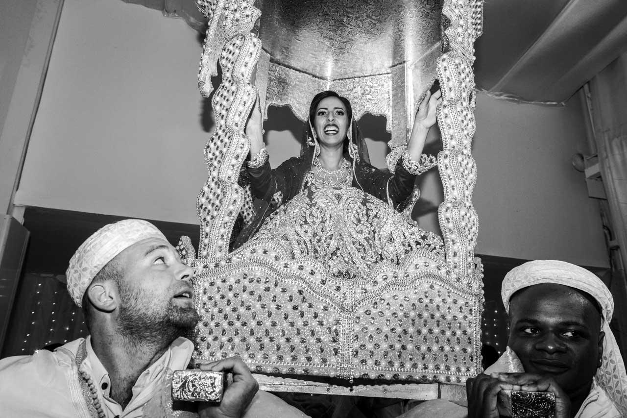 L'entrée de la mariée : Amaria - Les photos de Bela