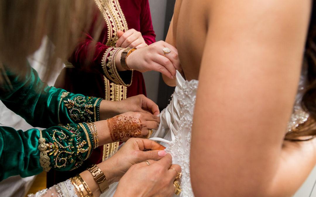 Mariage oriental : les préparatifs de la mariée - Les photos de Bela, photographe de mariage oriental Paris et IDF