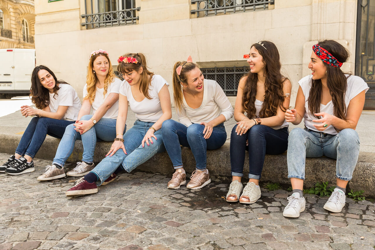 Groupe de fille - Shooting EVJF